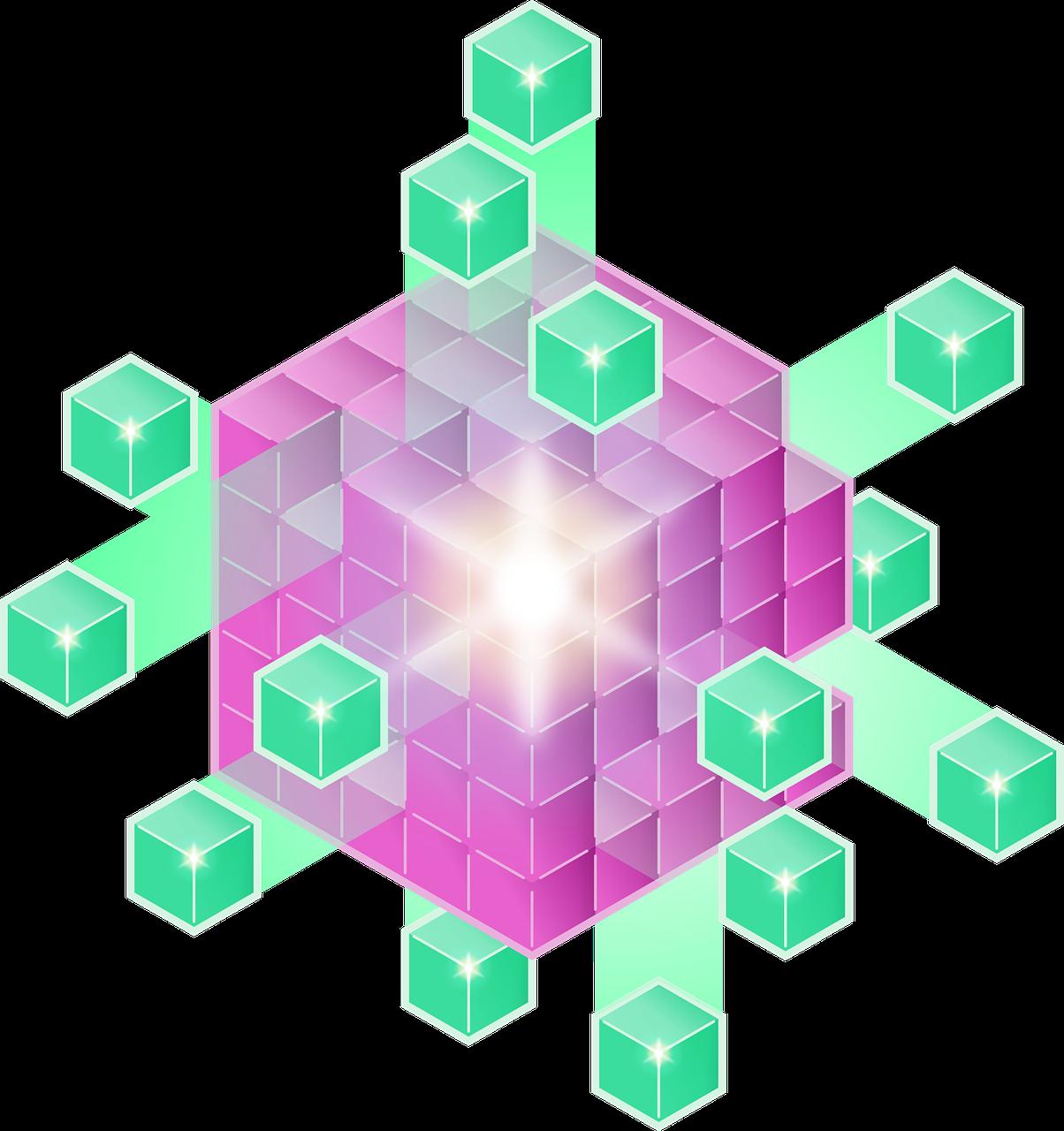 clones, computer, cube