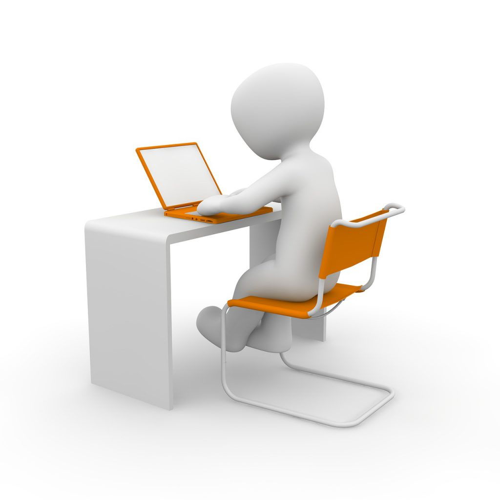 laptop, learn, school