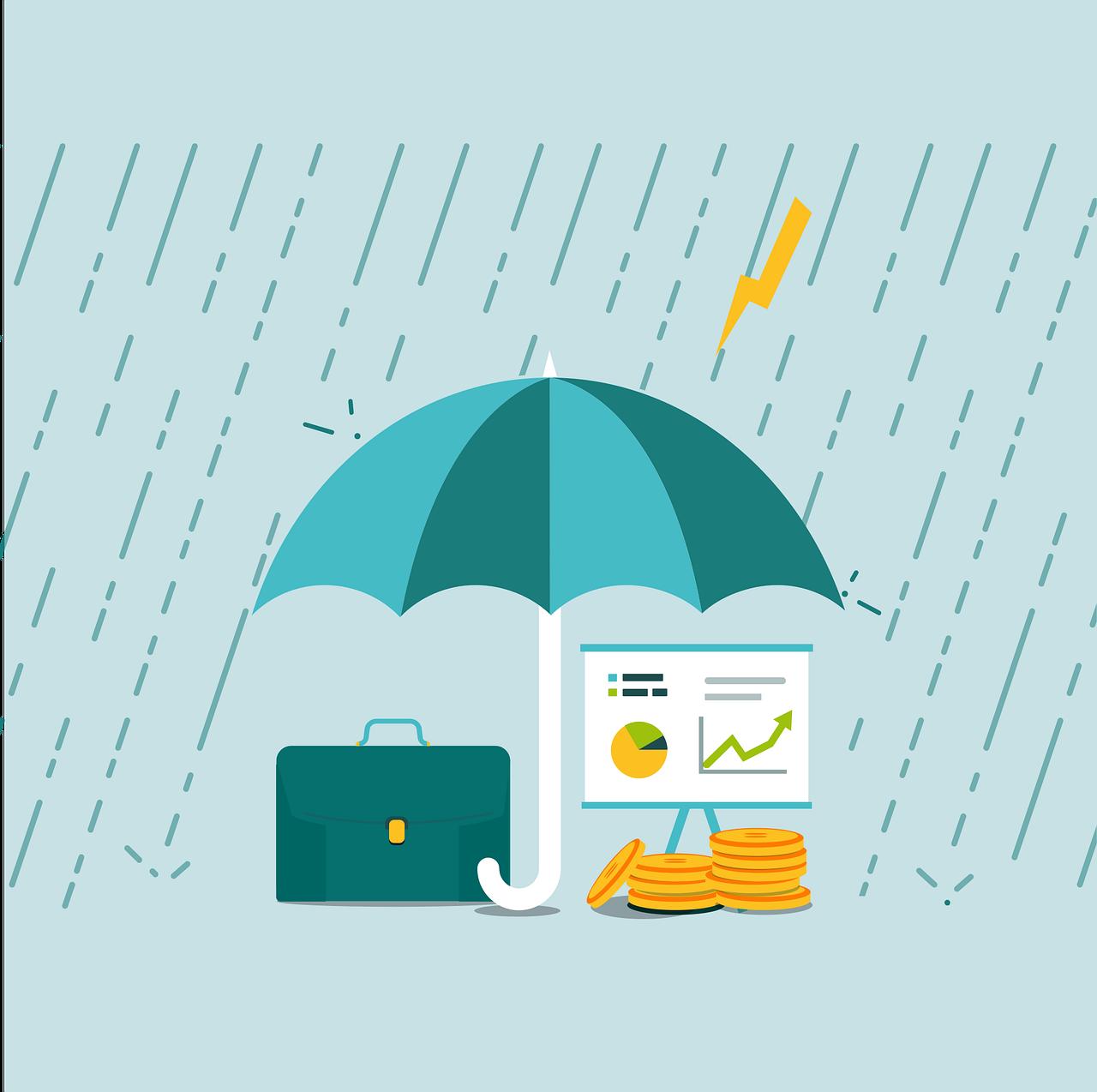 rain, business, money