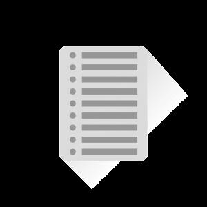 list, checklist, paper